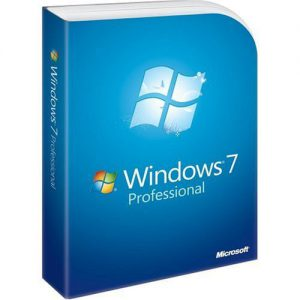 Microsoft Windows 7 Professional SP1 32-bit English (FQC-08279)