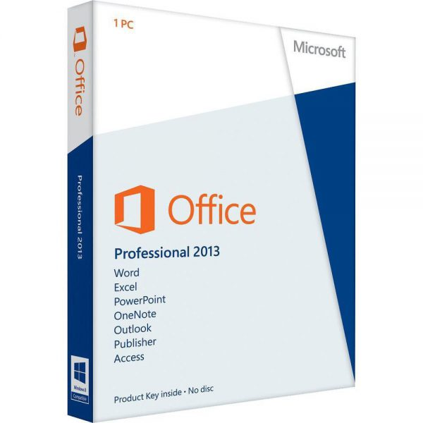 Microsoft Office Pro 2013