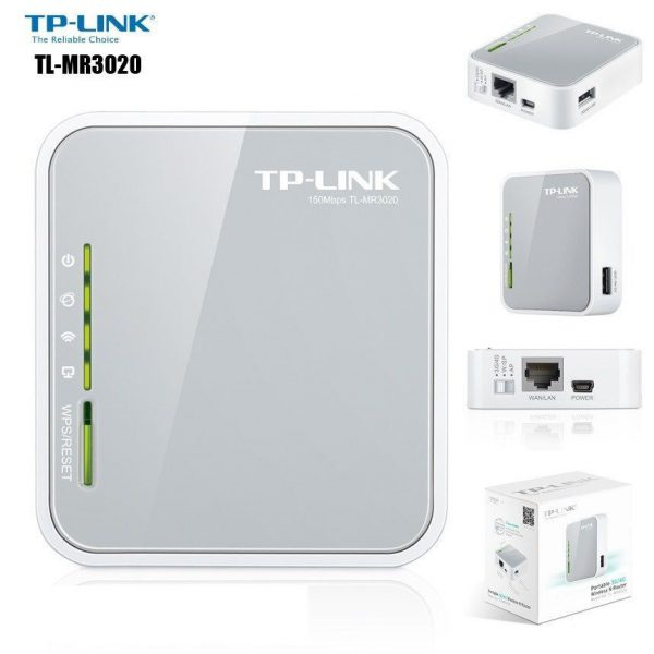 TP-link TL-MR3020(hỗ trợ 3G/7.5G)