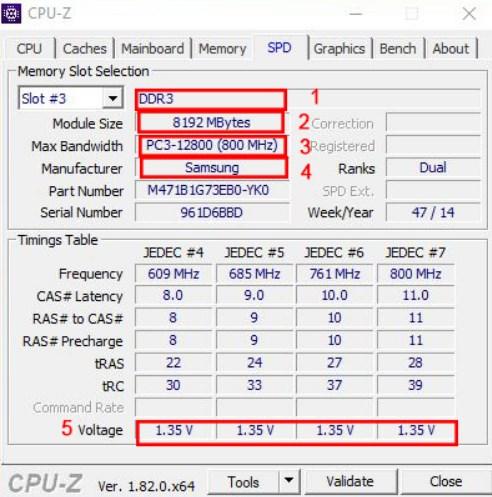 Kiểm tra loại Ram Laptop đang xài bằng CPUz