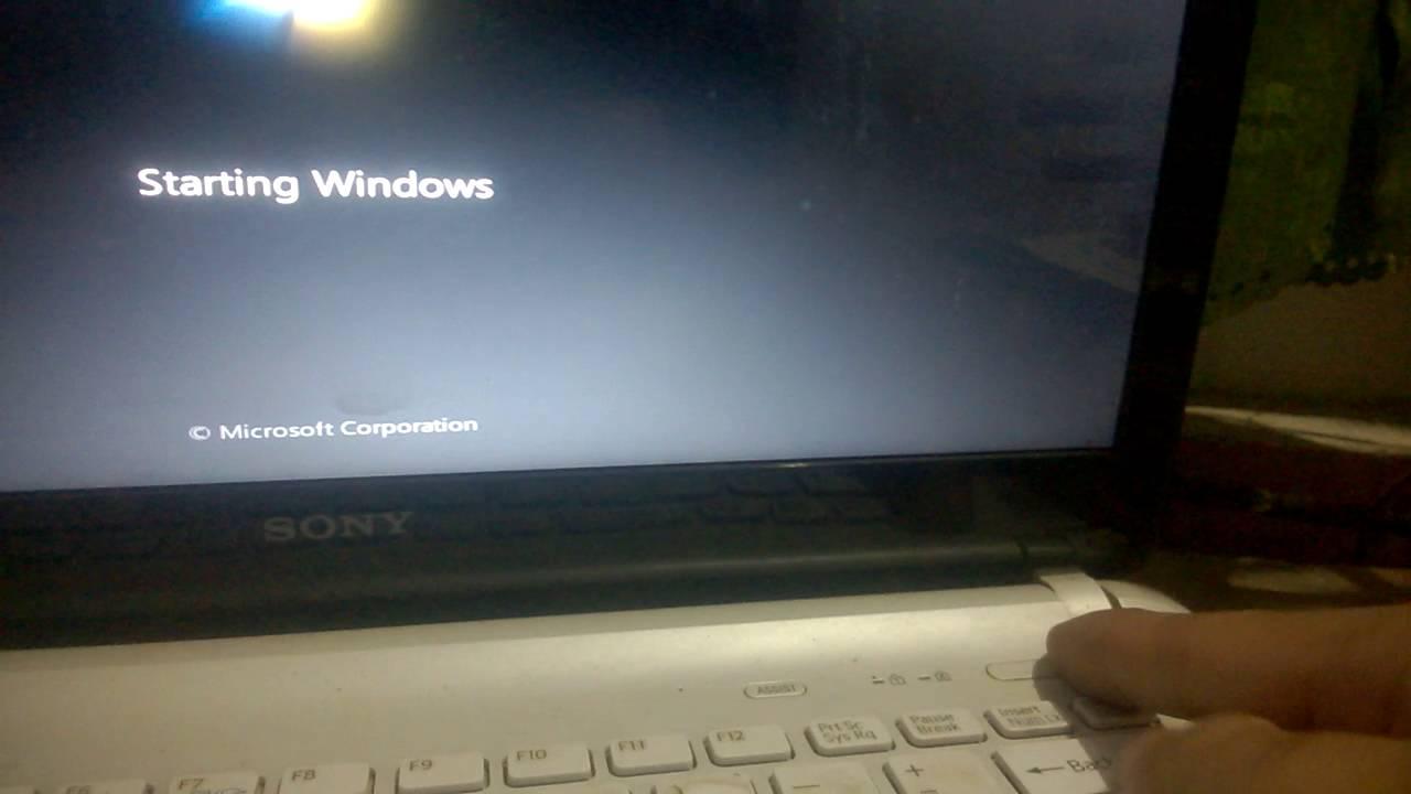 Lỗi laptop khởi động không lên
