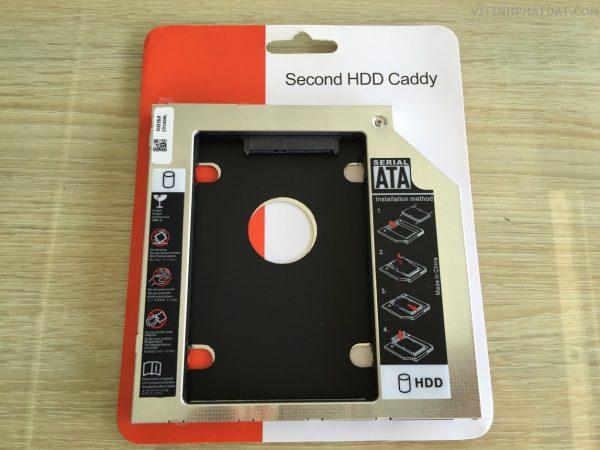 CADDY BAY dày- mỏng nhôm (9,5mm-12,7 mm) – SATA to SATA