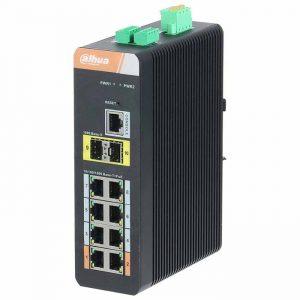 Bộ chia mạng POE Switch CÔNG NGHIỆP DAHUA DH-PFS4210-8GT-DP