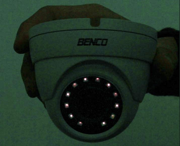 Camera có đèn hồng ngoại sáng lên