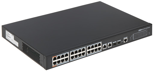 Bộ chia mạng POE Switch CÔNG NGHIỆP DAHUA DH-PFS4226-24ET-240
