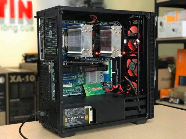 PC Dual Xeon E5 2689 – RAM 64G – VGA RX580 8GB
