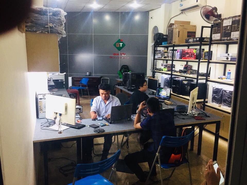 Phòng Kỹ thuật - Chuyên sửa chữa Laptop Đà Nẵng - GIA TÍN Computer