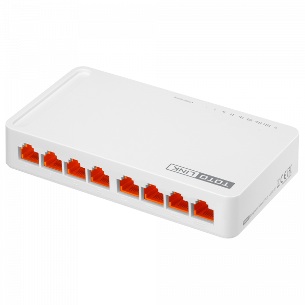 Bộ chia mạng  Switch Totolink S808 Switch 8 cổng 10/100Mbps