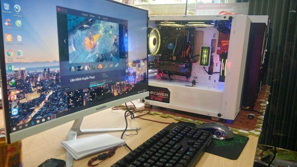 Máy bộ Gaming (H110/I5-7400/RAM 8GB/RX 570/SSD 128 G)