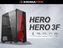 Vỏ cây máy tính Xigmatek HERO 3F- EN45129