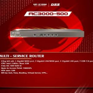Thiết bị mạng HUB -SWITCH IPCOM MULTI-SERVICE ROUTER AC3000-500