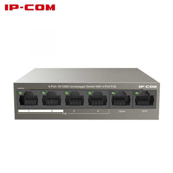 Thiết bị mạng HUB -SWITCH IPCOM POE F1106P-4-63W