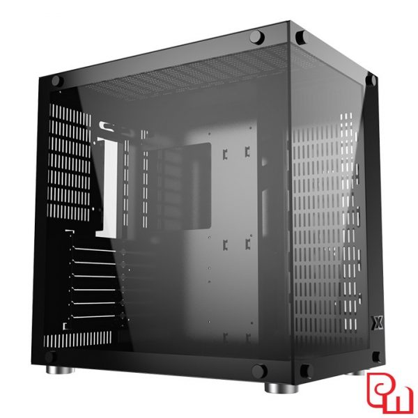 Vỏ cây máy tính Xigmatek Aquarius Plus Black (No fan) EN43330