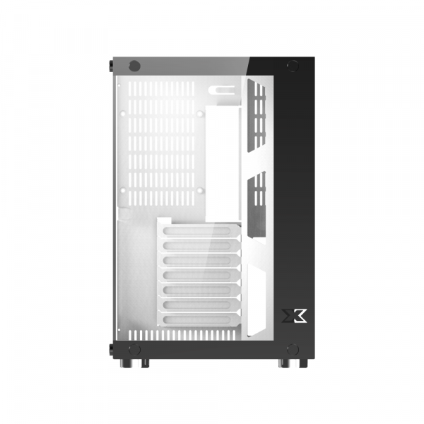 Vỏ cây máy tính Xigmatek Aquarius Plus White (No fan) EN43668