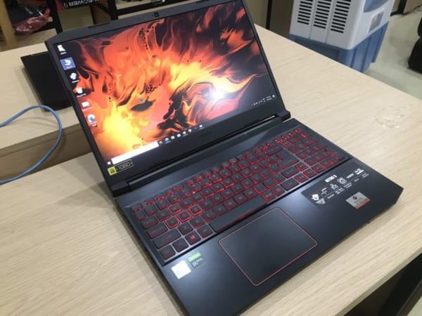Laptop Acer Nitro 5 AN515-55 – Core i5 10300H / 2.5 GHz – GF GTX 1650- 8 GB RAM – 256 GB SSD Mới 100%