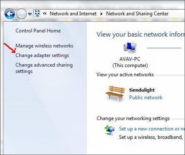 cach sua loi laptop khong hien thi danh sach wifi9