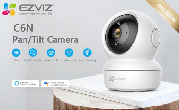 Camera Wifi EZVIZ C6N-2MP 1080P