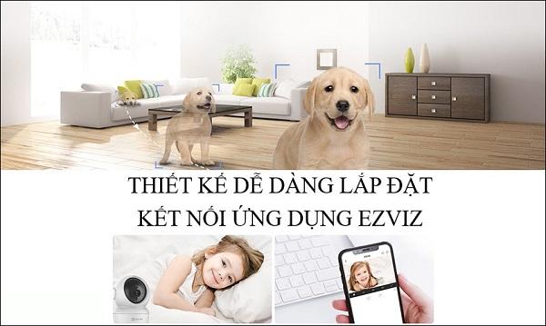 Camera Ezviz C6N Hỗ trợ đàm thoại 2 chiều