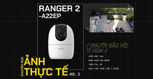 Camera Wifi Dahua IMou Ranger 2 IPC-A22EP