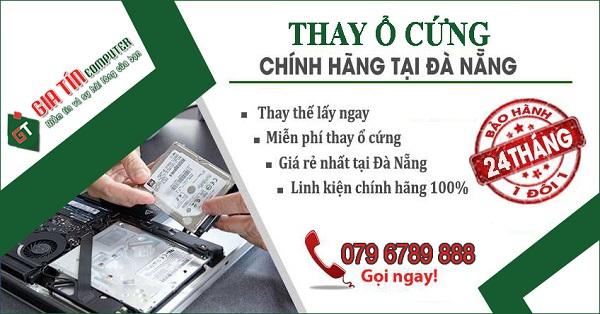 Sửa chữa, nâng cấp, thay ổ cứng Laptop tại Đà Nẵng