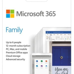 Phần mềm Microsoft Office 365 Family